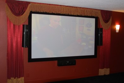 home theater installation - central Florida